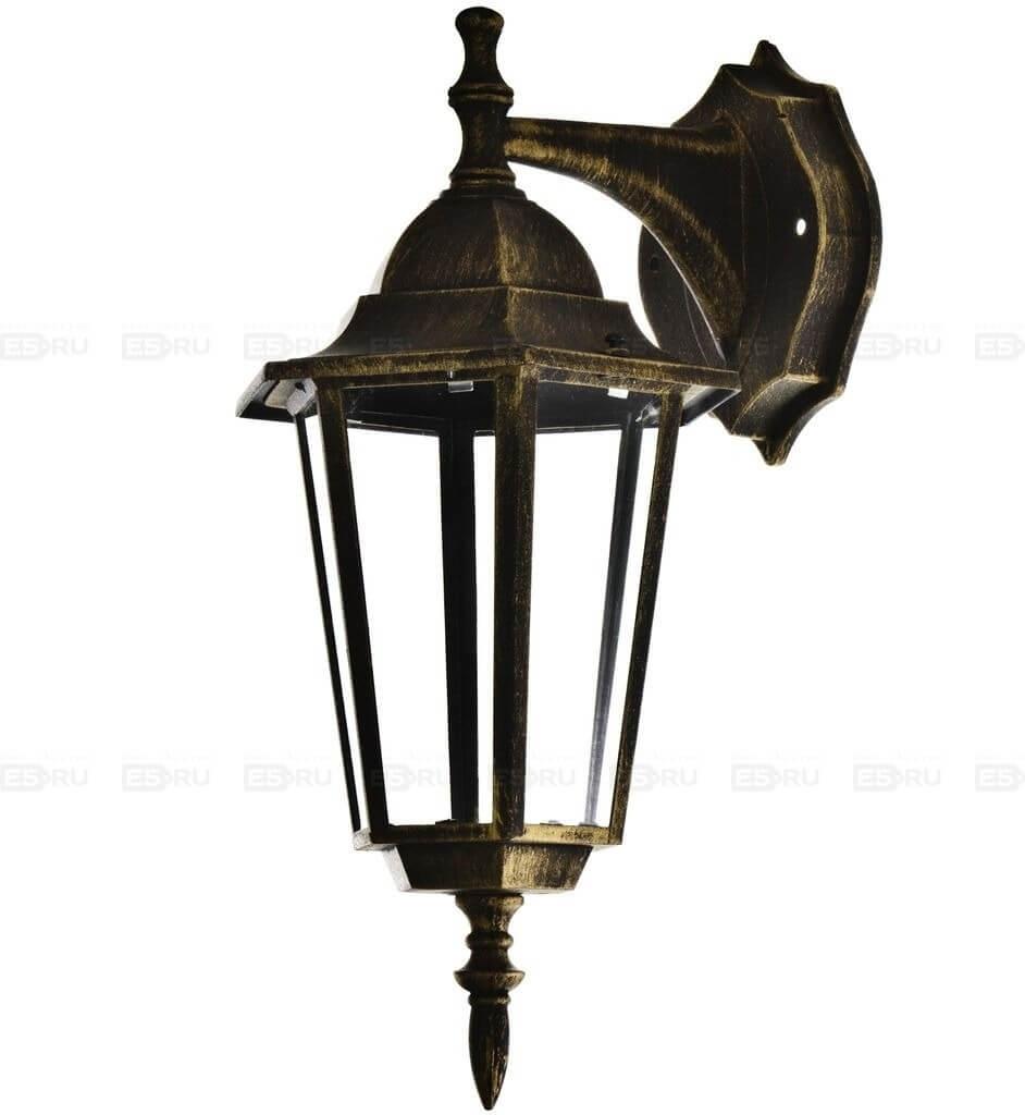 Светильник садово-парковый настенный Camelion бронза 4102 60W Е27 IP33