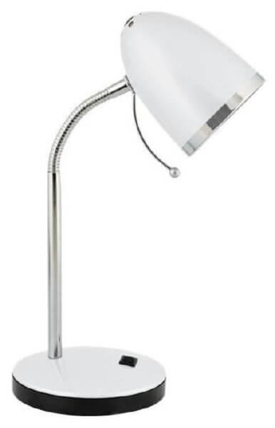 Светильник настольный Camelion КD-308 40Вт белый металл E27