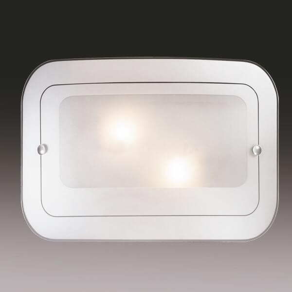 Бра СОНЕКС TIVU 2271 FBD09 Е27 2х60Вт белый хром