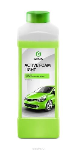 Автошампунь для бесконтактной мойки Grass Active Foam Light 132100 активная пена 1л