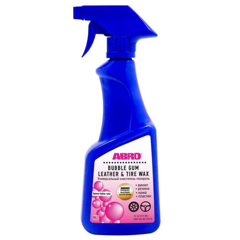 Полироль-очиститель универсал Bubble Gum 473мл Abro BLT016R
