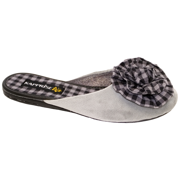 Туфли женские комнатные с верхом текстиль