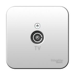 Розетка TV ОП BLANCA изол. пласт. алюминий Schneider Electric BLNTA000013