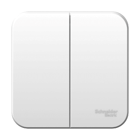 Выключатель 2-кл. ОП BLANCA сх.5 10А 250В изол. пласт. белый Schneider Electric BLNVA105011