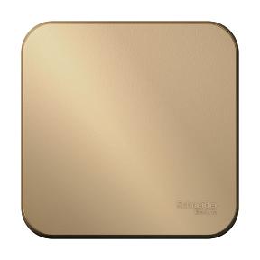 Выключатель 1-кл. ОП BLANCA сх.1 10А 250В изол. пласт. титан Schneider Electric BLNVA101014