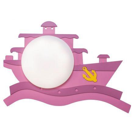 Светильник настенный детский Gerhort 43011/1wPK 1х8Вт Led фиолетовый