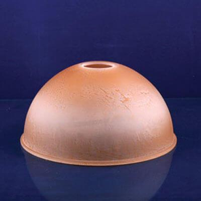 Плафон Сфере ННС 33-314.1-ф204/в 42 прозрачно-матовый коричневый