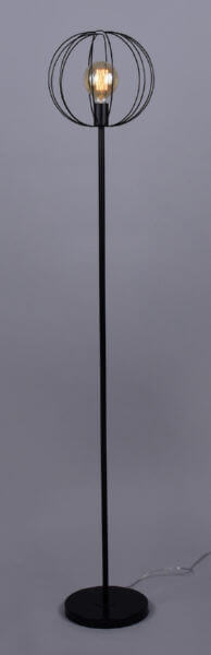 Торшер Андромеда РС20867 BK/1F 1х60Вт Е27 черный