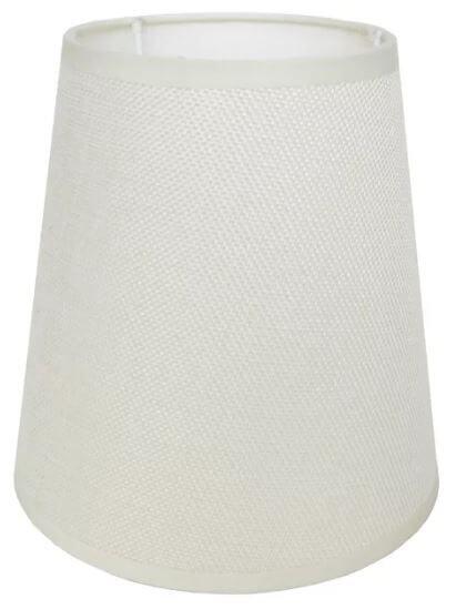 Абажур А16211 молочный лен