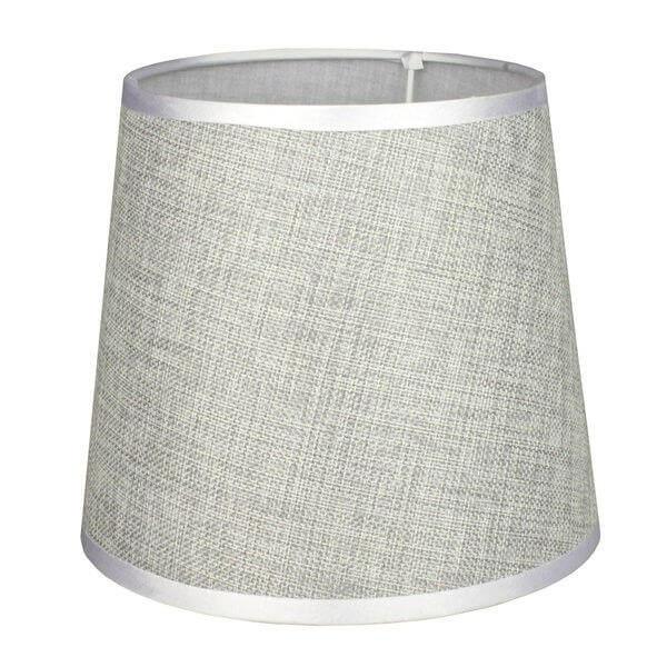 Абажур А21028 серый лен