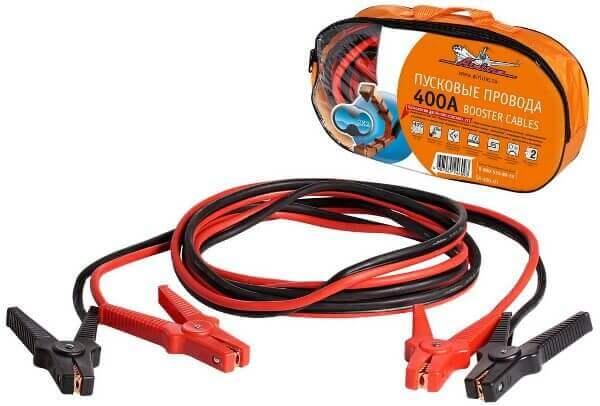 Провода пусковые 400А силиконовые в сумке Airline SA-400-01