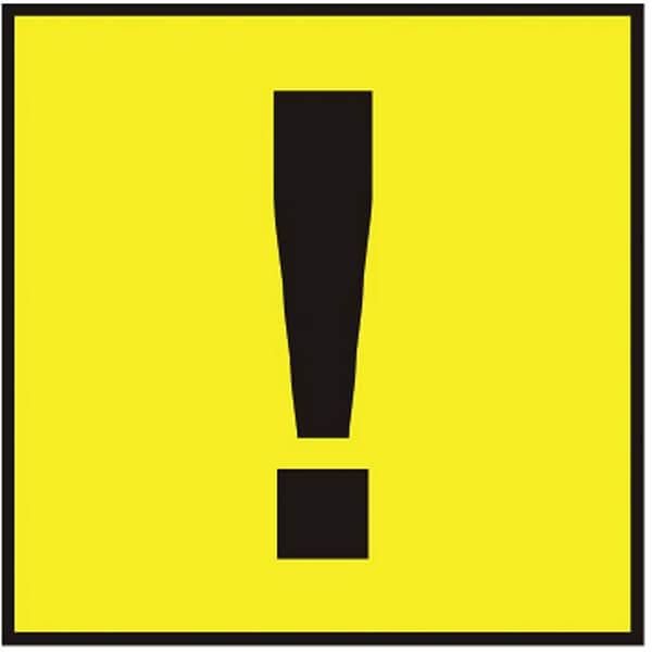 Знак самоклеющийся наружный Начинающий водитель