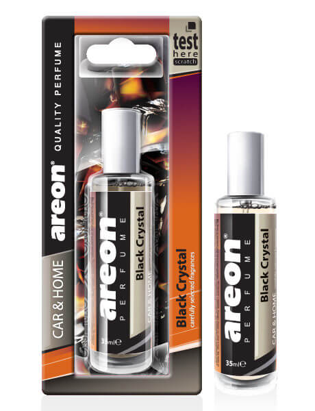 Ароматизатор спрей Areon Perfume черный кристалл 35мл