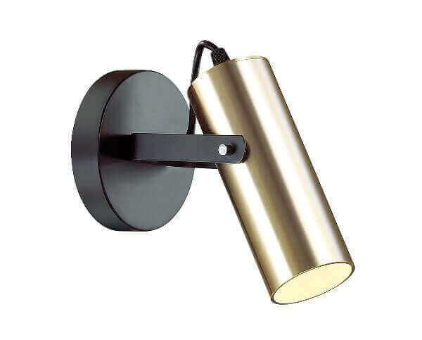 Бра LUMION 3714/1W LN18 000 золотой, черный GU10 220V CLAIRE