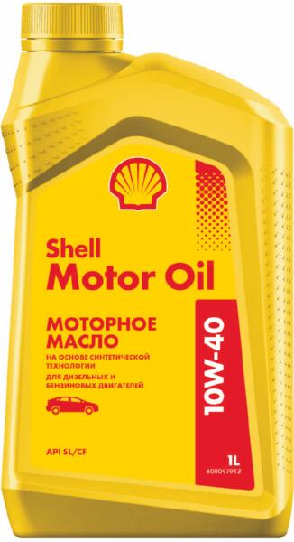 Масло моторное SHELL Motor Oil 10W40 1л