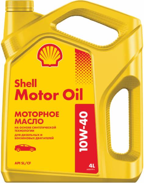 Масло моторное SHELL Motor Oil 10W40 4л