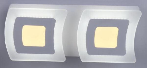 Бра Linvel Атеа MS1025 24Вт 3000-6000К белый AC180-220В 480х200х80