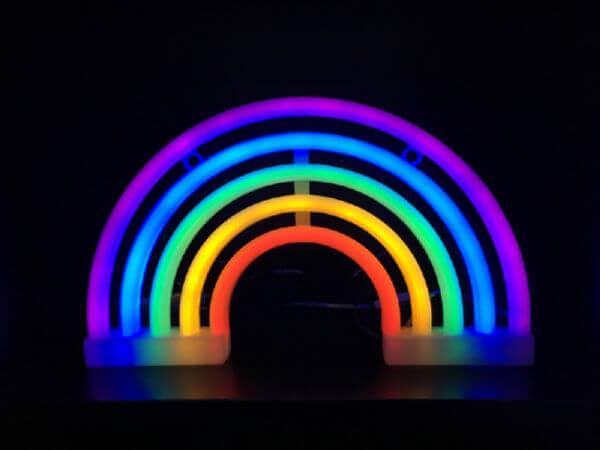 Ночник СТАРТ LED neon Волшебная Радуга