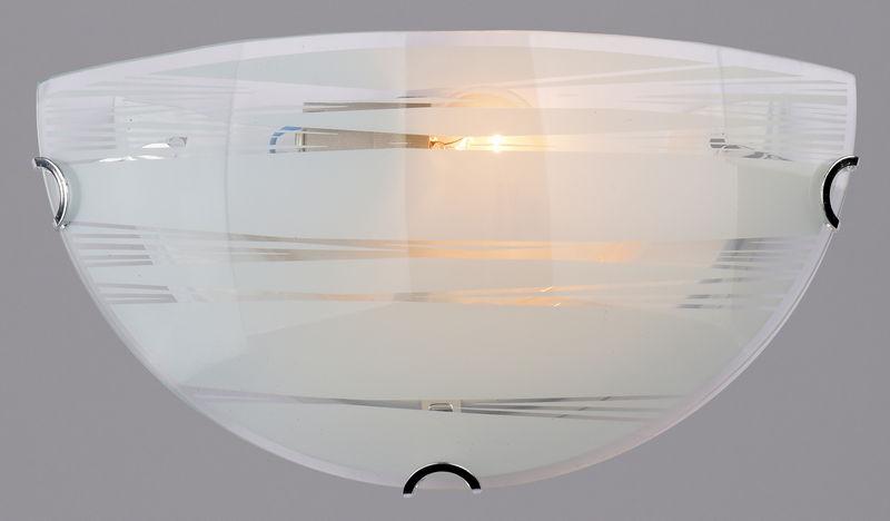 Светильник полукруг РОССвет РС-023 Нити гл. половинка 1х60Вт Е27 хром, белый