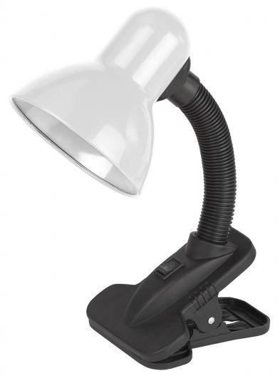 Светильник настольный на прищепке ЭРА N-212-E27-40W-W белый