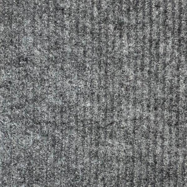 Покрытие ковровое иглопробивное ФлорТ Экспо 01001 серый 2м