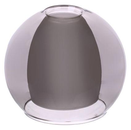 Плафон двойной полупрозрачный 33 Идеи 15х16см серый