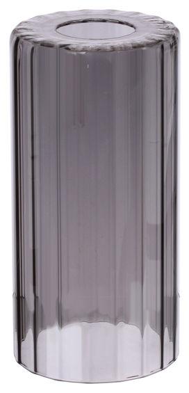Плафон цилиндр рифленый 33 Идеи 20х10см серый