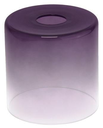 Плафон цилиндр градиент 33 Идеи 13х13см сиреневый