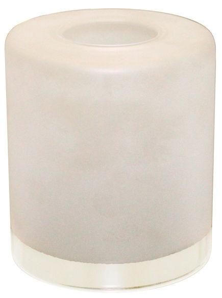 Плафон цилиндр с прозрачным краем 33 Идеи 13х13см белый