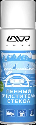Очиститель стекол пенный Антистатик 650мл LAVR Ln1620