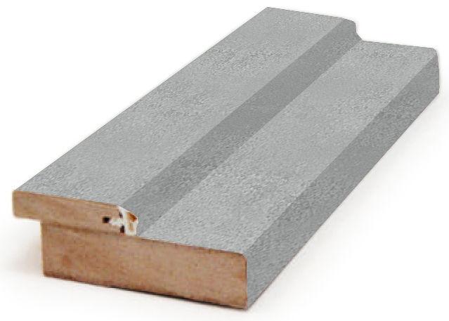 Коробка дверная прямая Бетон серый 2070х80х28мм