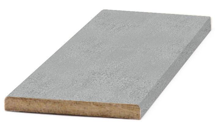 Добор прямой 100x2070мм Бетон серый