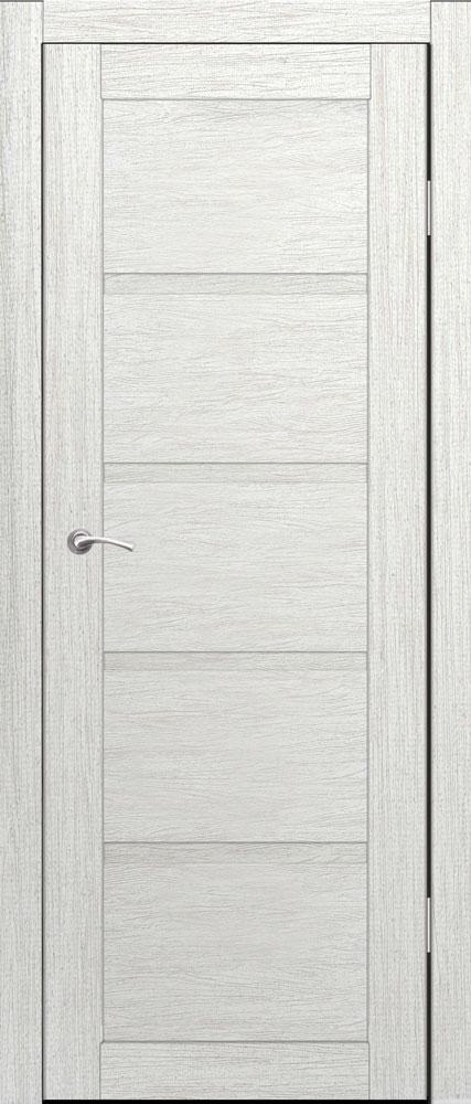 Дверь межкомнатная Торонто глухая 600 роялвуд белый