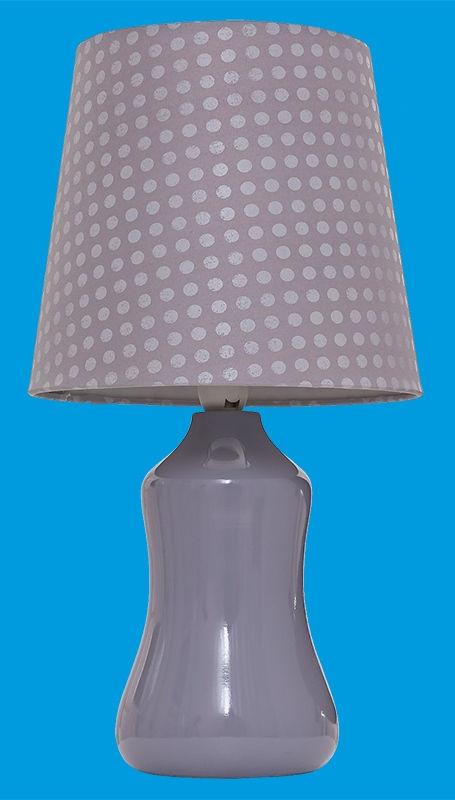Светильник настольный Gerhort G32081/1T GR GR 40Вт Е14 серый