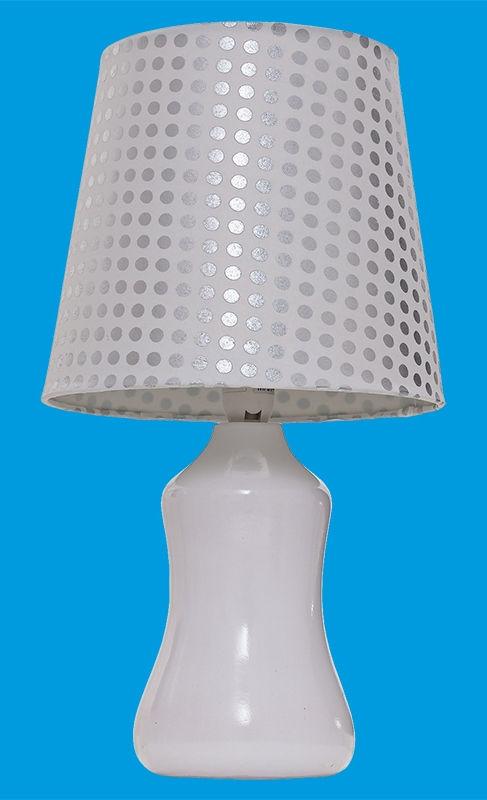 Светильник настольный Gerhort G32081/1T WT WT 40Вт Е14 белый