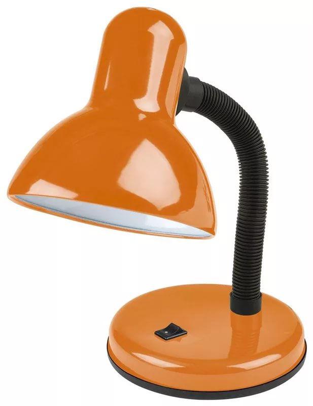 Светильник настольный Uniel TLI-225 60Вт Е27 оранжевый