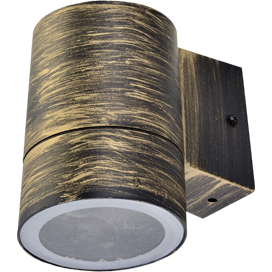 Светильник Ecola 8003A Цилиндр FN53C1ECH 114х140х90 IP64 GX53 бронза черная