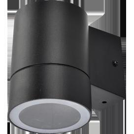 Светильник Ecola 8003A Цилиндр FB53C1ECH 114х140х90 IP64 GX53 черный