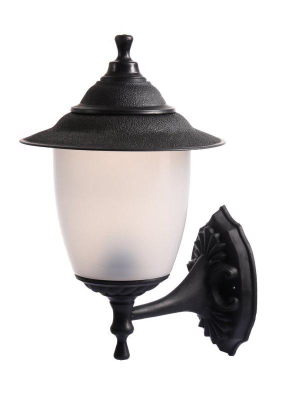 Светильник настенный вверх TDM Прага Эл-11-71 SQ0330-0501 60Вт Е27 d230 h390 l265 IP44 черный