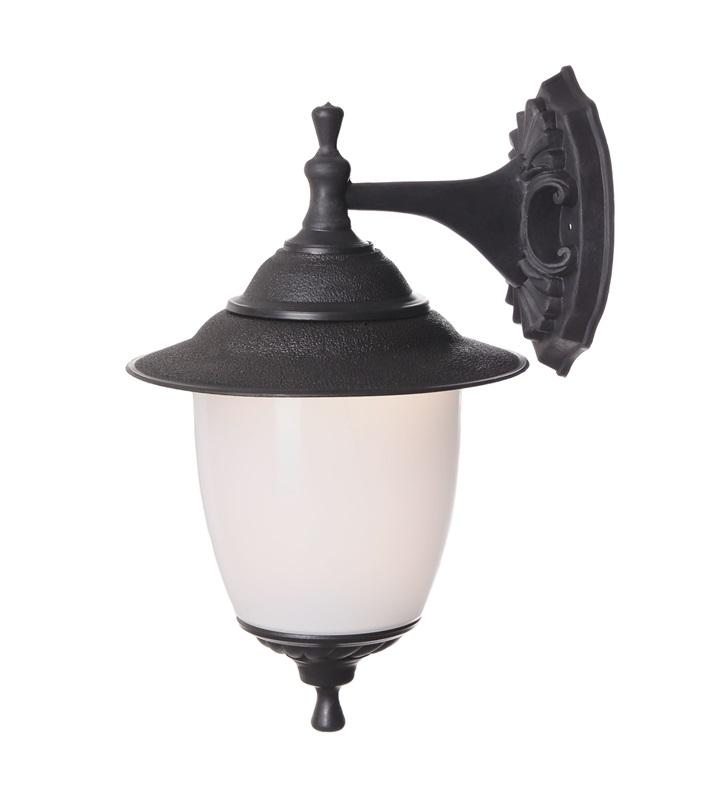 Светильник настенный вниз TDM Прага Эл-11-71-1 SQ0330-0504 60Вт Е27 d230 h390 l265 IP44 черный