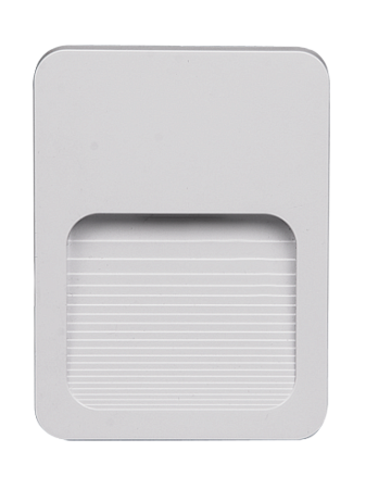 Подсветка стен накладная квадрат Jazzway PST/W S120090.5005570 2Вт 40Лм 4000К IP44 120х90х12 белый