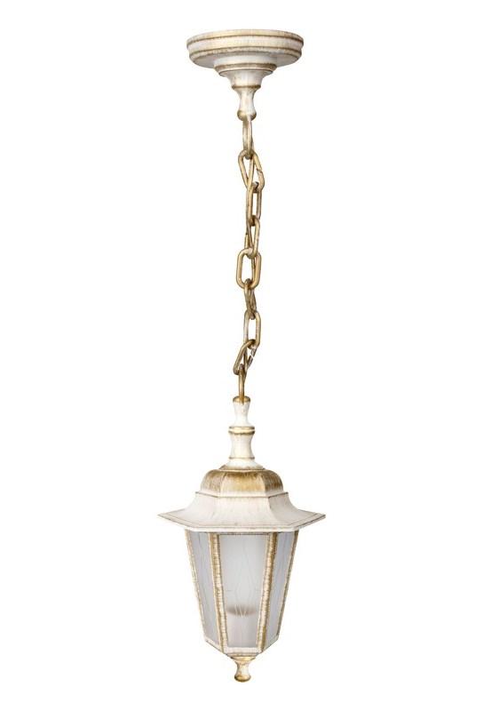 Светильник уличный подвес Camelion Адель1 6-гранный 13853 PP4105 C66 НТУ 06-60-001 У1 белый бронза