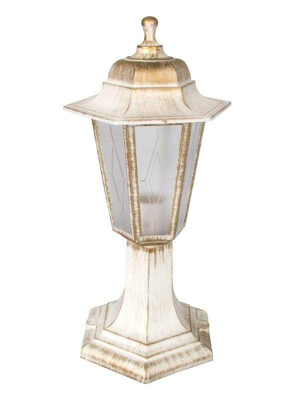 Светильник уличный столбик Camelion Оскар1 6-гранный 13845 PP4104 C66 НТУ 06-60-001 У1 белый бронза