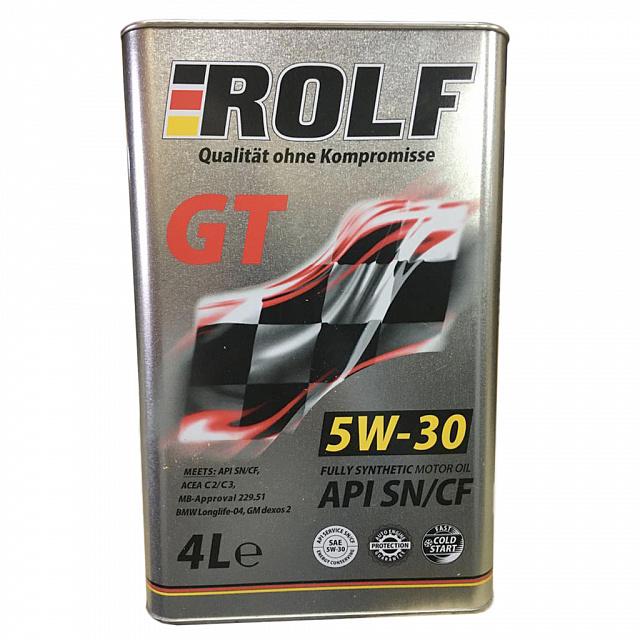 Масло Rolf GT 5/30 SN/CF синтетическое 4л
