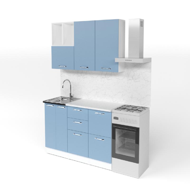 Гарнитур кухонный Евгения стандарт 4 1600мм