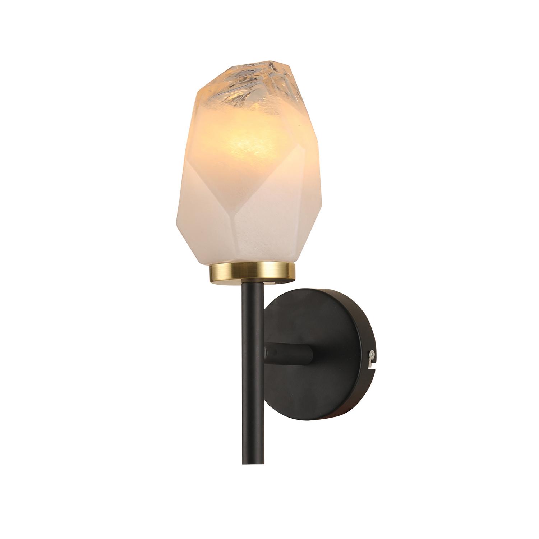 Светильник настенный G31125/1wBK+AB WT 1х7Вт