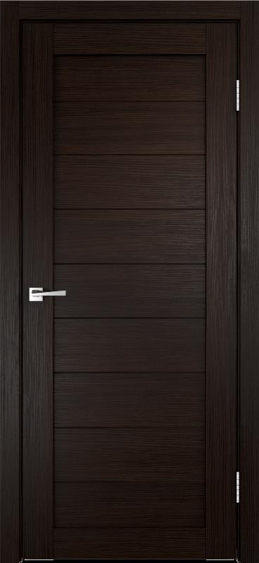 Дверь межкомнатная VellDoris Unica 0 глухое 600х2000мм без притвора венге