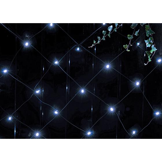 Светильник садовый сеть на солнечной батарее ЭРА ERASS024-15 150LED холодный свет 2х1,35м
