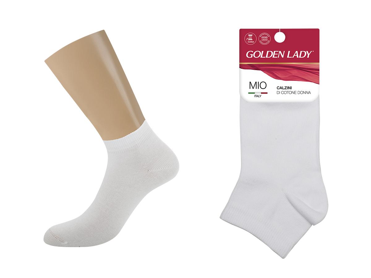 Носки женские Golden Lady Мио укороченный Белый 39-41