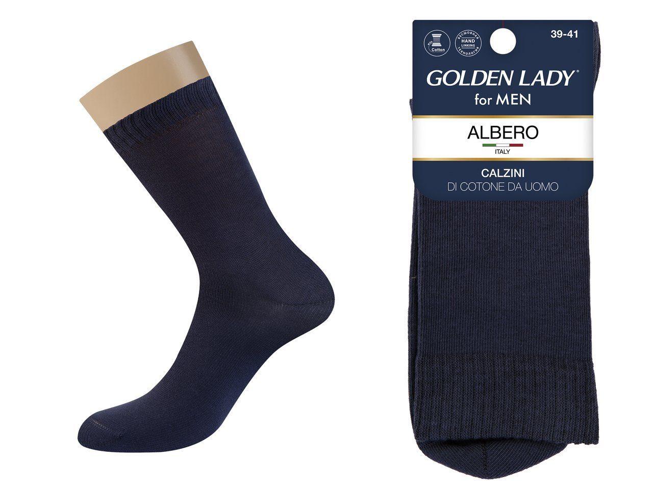 Носки мужские Golden Lady Альберо Синий 42-44